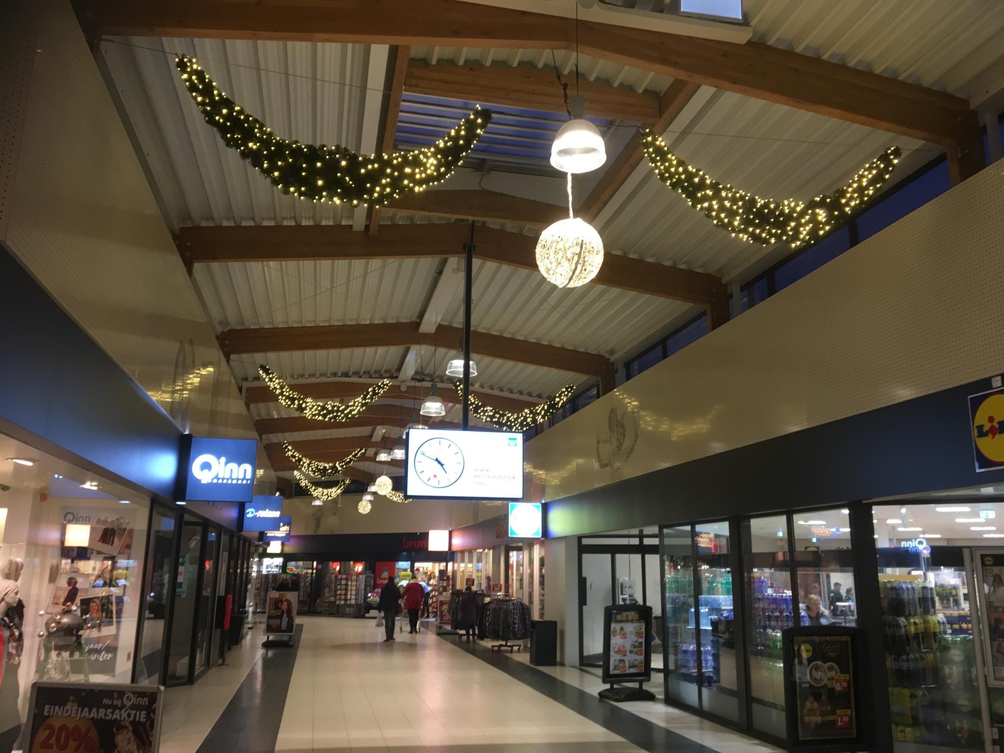Ledwin Kerstverlichting Winkelcentra Nieuwe Feestverlichting